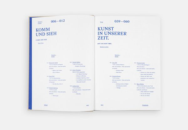 Komm und sieh on Editorial Design Served