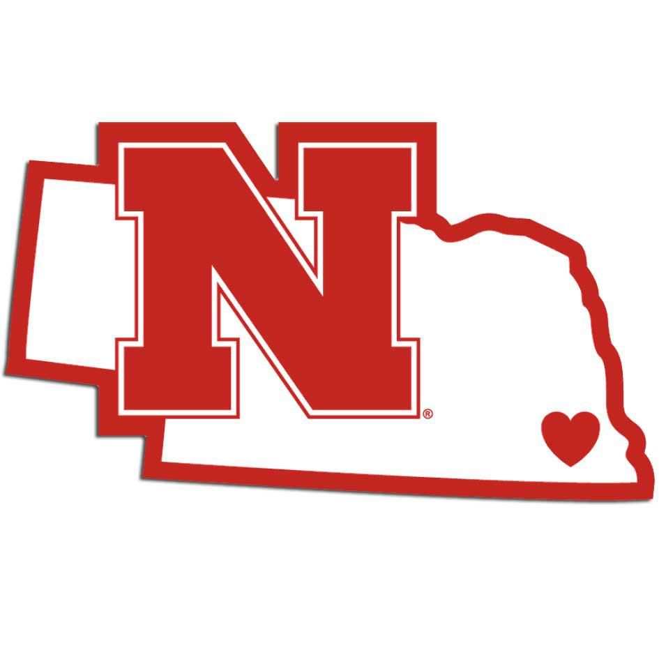 Nebraska NE State Pride Decal Sticker TONS OF OPTIONS