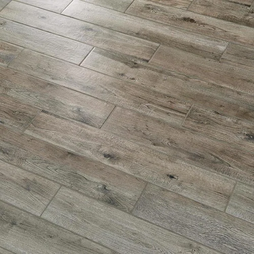 Mohawk Foreverstyle 10 Pack Smoke Wood 6 In X 36 In Matte Porcelain Wood Look Floor Tile Lowes Com Flooring Tile Floor Brown Tile Floor