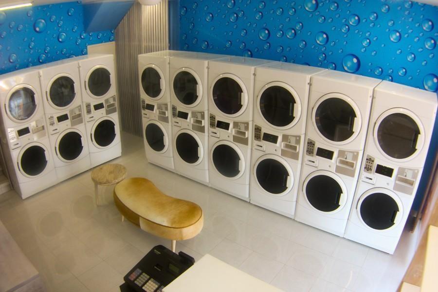 Pin By Tuyen Nguyen On Bacoten Coin Laundry Laundry Laundry Shop