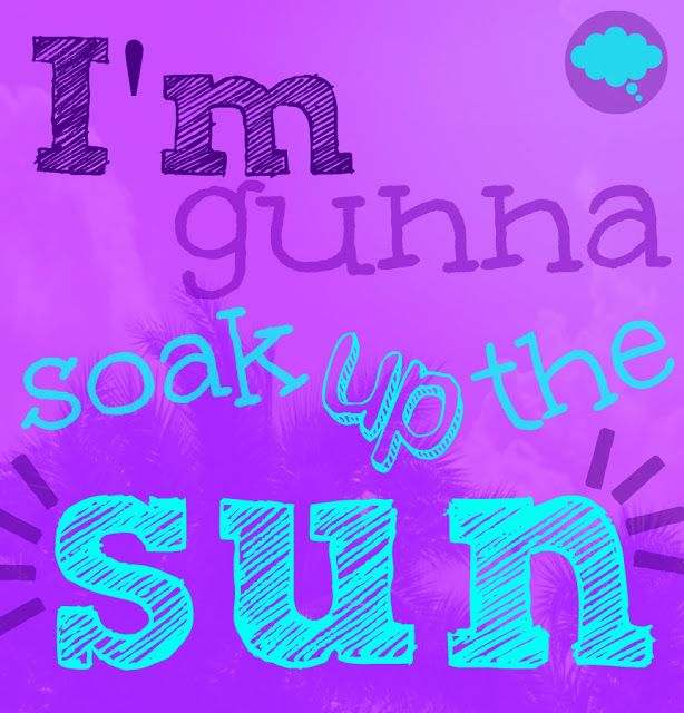We Think Therefore We Create: Throwback Thursday // Soak Up the Sun #SherylCrow #SoakUpTheSun #music #lyrics #summer #typography #palmtrees http://wethinkthereforewecreate.blogspot.com/2013/08/throwback-thursday-soak-up-sun.html