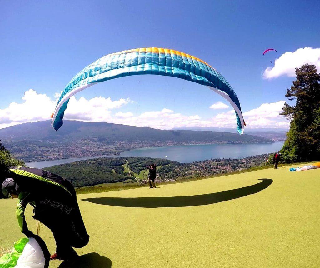 Haute Savoie Parapente Annecy Parapente Felicidad