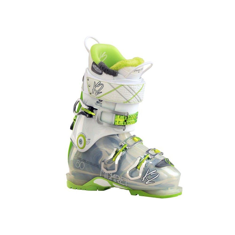 Ski Boots Sale >> K2 Minaret 80 Women S Ski Boots 25 5 White Green Ski