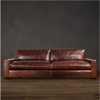 Restoration Hardware Look Alikes Save The Comfortable Couch Company Vs Maxwell Leather Sofa
