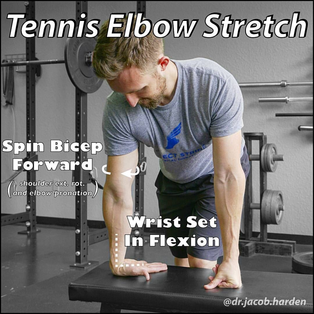 4 420 Likes 316 Comments Dr Jacob Harden Dr Jacob Harden On Instagram Get Some Relief From Tennis Elbow Exercises Tennis Elbow Relief Elbow Exercises