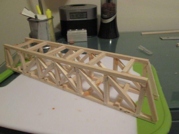 Balsa Wood Bridge Grady Pinterest Wood Bridge Bridge And Wood