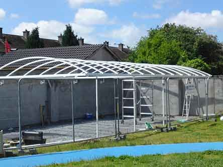 Multicover (Ireland) - BELFAST - Carports Northern Ireland Canopies Northern Ireland Conventional Canopy NI Car Shelter Covering Patio Covers NI Carports ... & Multicover (Ireland) - BELFAST - Carports Northern Ireland ...