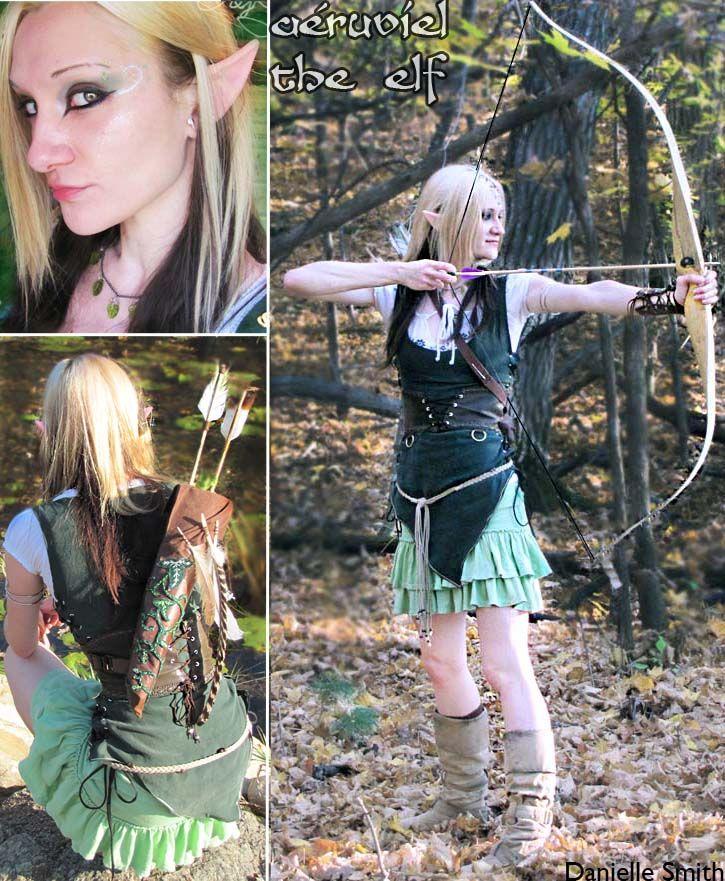 Aeruviel the elven archer by ~Smithy9 on deviantART