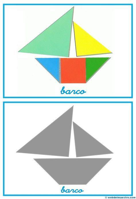 tangram  figuras para imprimir online  kinder