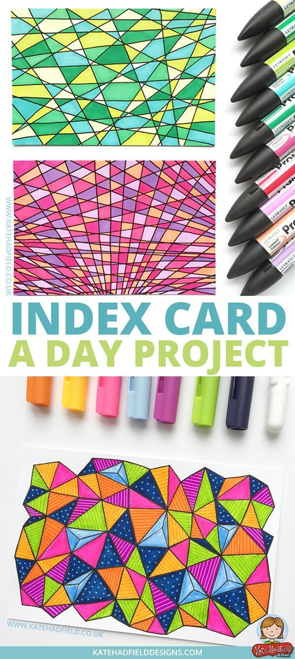 Index Card A Day Project