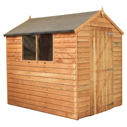 Buy Mercia 7 x 5 Overlap Apex from our Garden Sheds range - Tesco.com