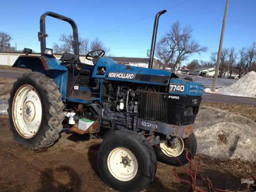 Used New Holland 7740 Tractor Parts New Holland Tractors New Holland Tractor