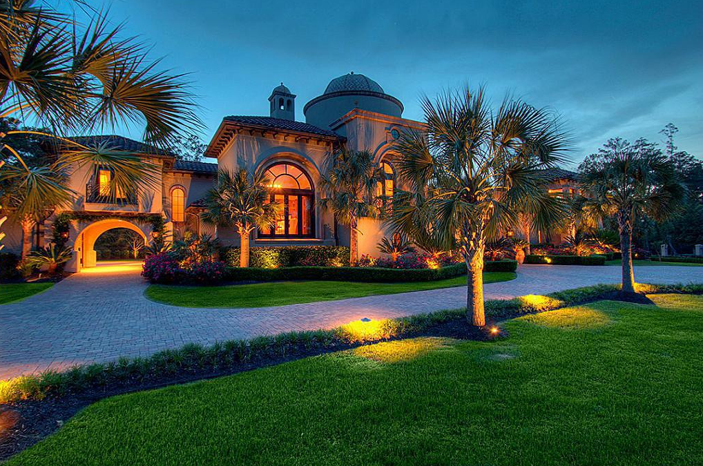 Million Mediterranean Mansion In The Woodlands TX