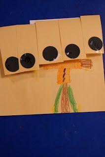 Mrs. Lee's Kindergarten: Five Crows All Shiny Black