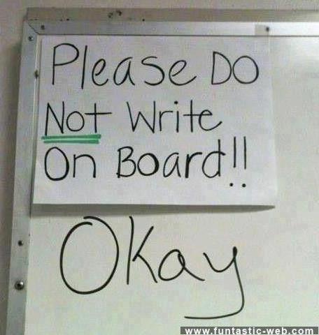 Please Do Not Write