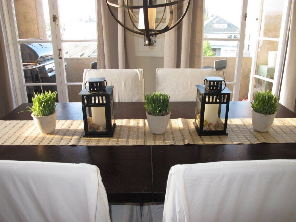 Image Result For Rectangular Dining Room Table Centerpieces Plants Dining Room Table Decor Dining Room Table Centerpieces Dining Room Centerpiece