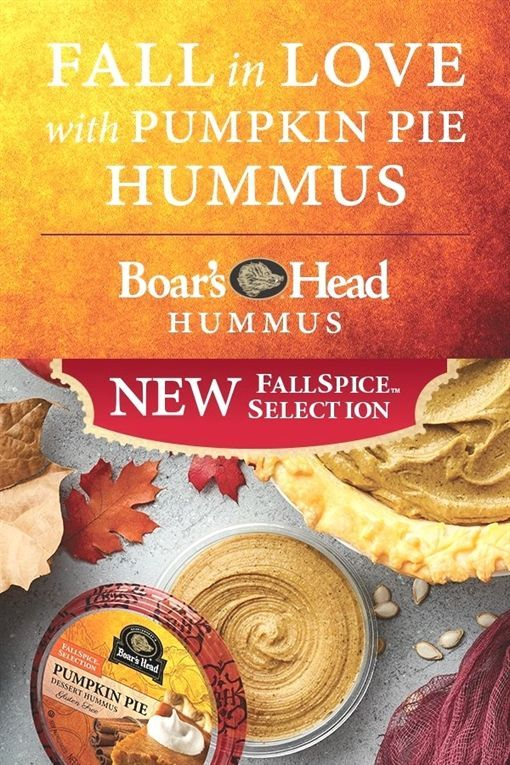 Boar's HeadIndulge in the rich taste of real pumpkin