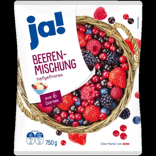 Ja Beeren Mischung 750g Bei Rewe Online Bestellen Rewe Beeren