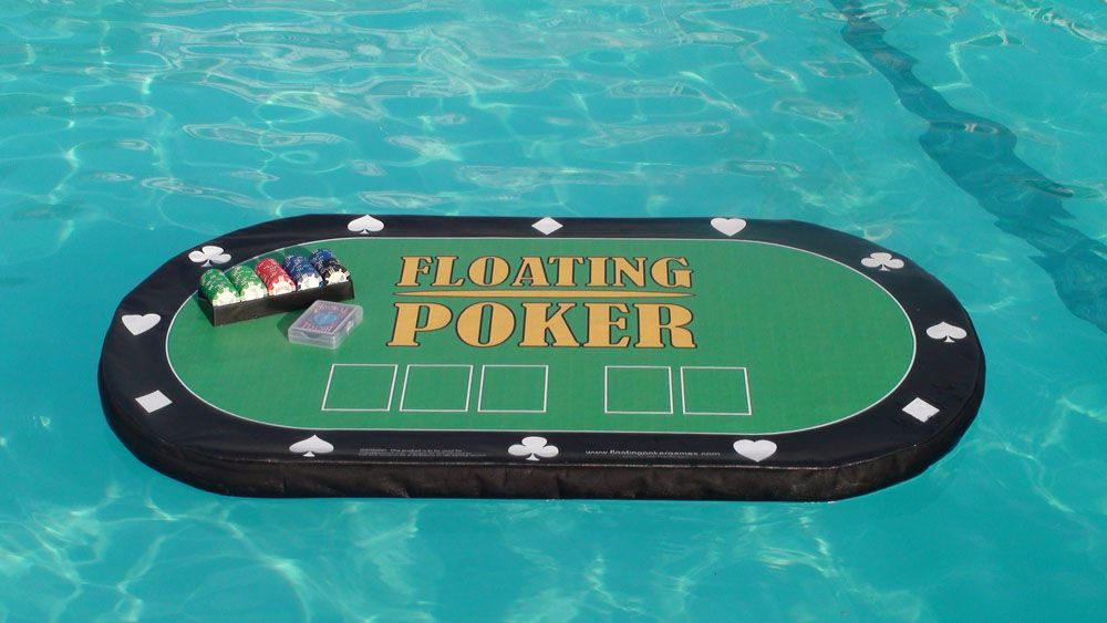 The Floating Poker Table Bundle For David Pool Games