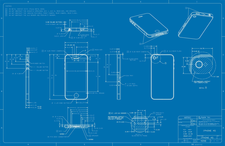 Mac Spoilers Iphone Dimensions Blueprints Wallpaper