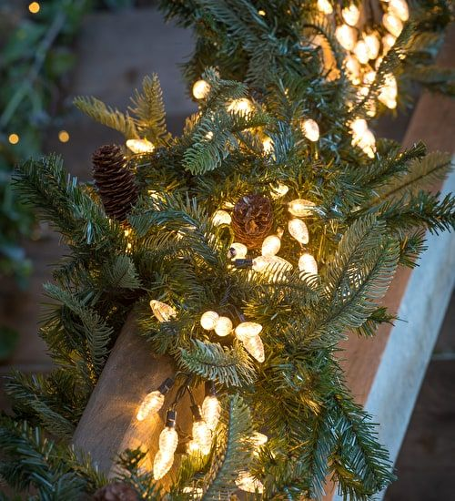 extra long pinecone lights with 480 leds this looks lovely indoors or out adding a