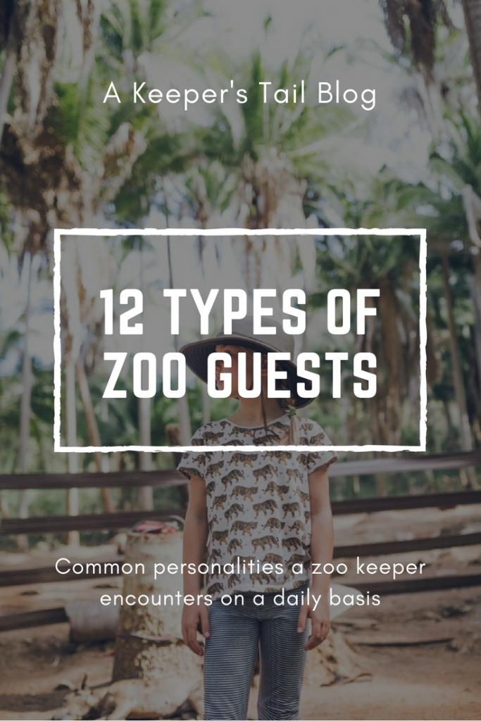12 Types Of Zoo Visitors Zoo Keeper Zoo Marine Biology