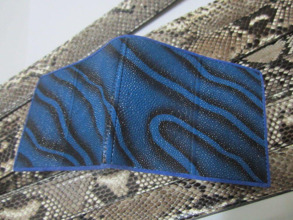 Stingray  BIfold Wallet  EX-204 Blue Color  Price Promotion! Grade PremiumAAA+ #ossora #Bifold