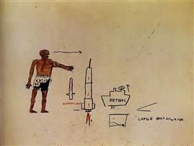 Large Body of Water - Jean-Michel Basquiat