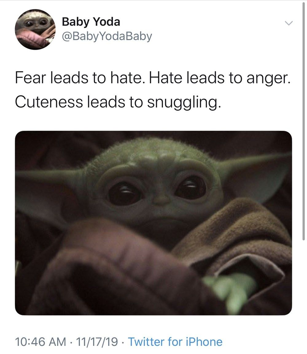 Cute Baby Yoda Memes Because The Internet Can T Even Yoda Meme Funny Babies Funny Memes