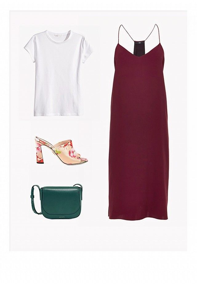 How to Wear One Simple Slip Dress 6 Different Ways | WhoWhatWear