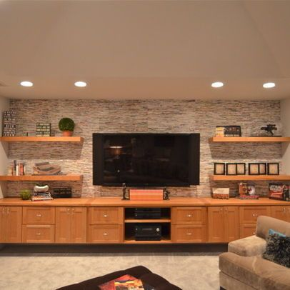 Media Wall Cabinets Design Ideas, Pictures, Remodel, and Decor ...