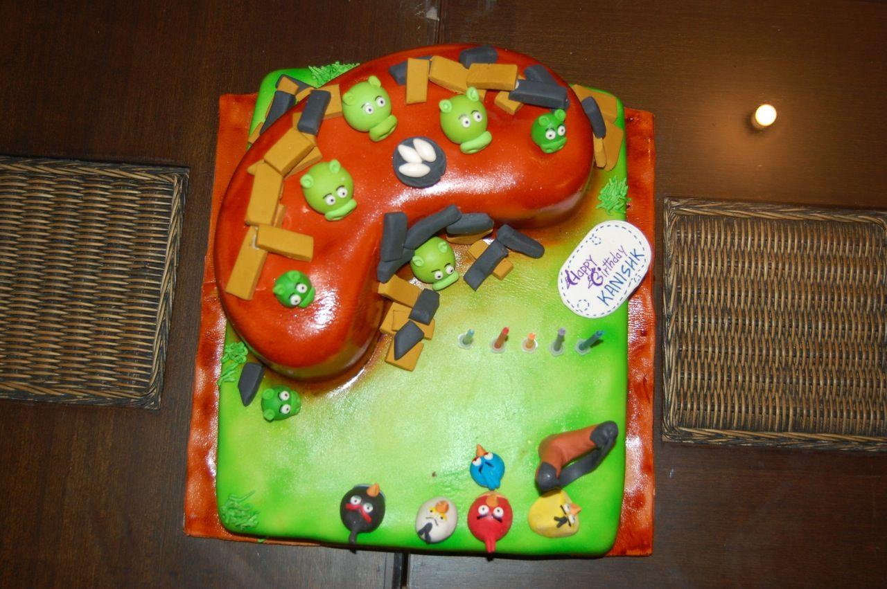 Angry birthday no birday cake bird birthday parties