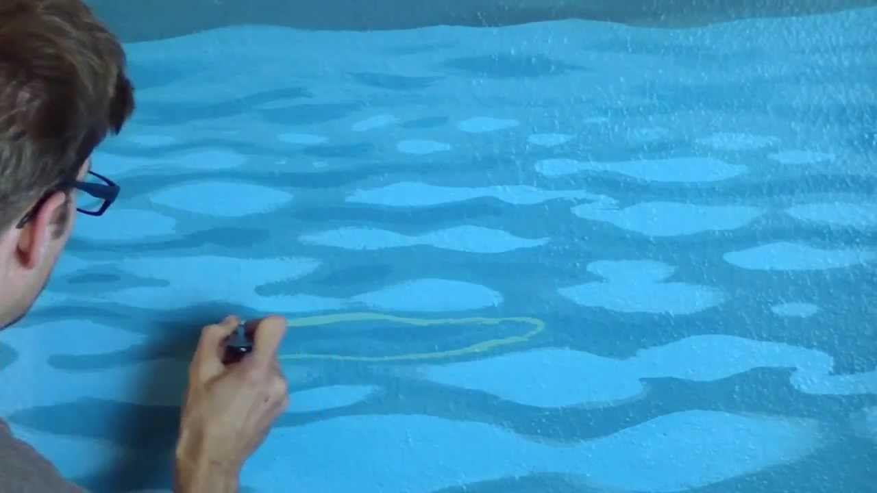 How To Paint Pool Water 3 This Is A Prefect Video To Know How To