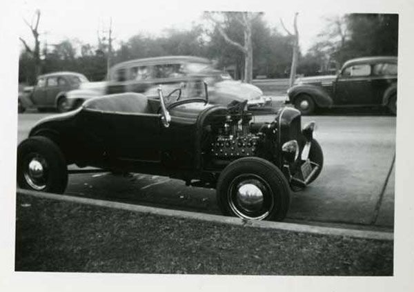 early ford roadster