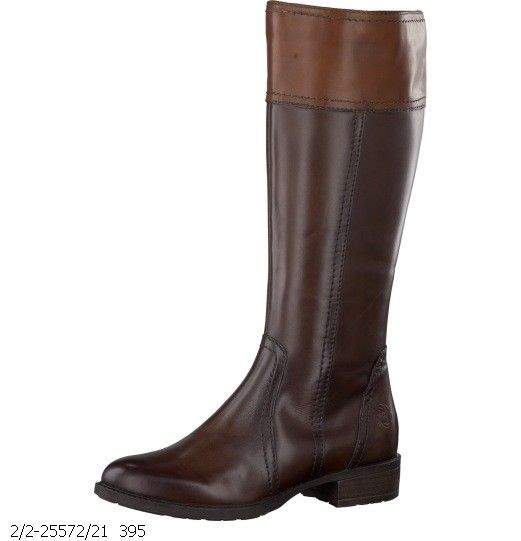 Marco Tozzi 25572 21 Nut Leather Boot Boots Mens Shoes Boots Womens Fashion Shoes