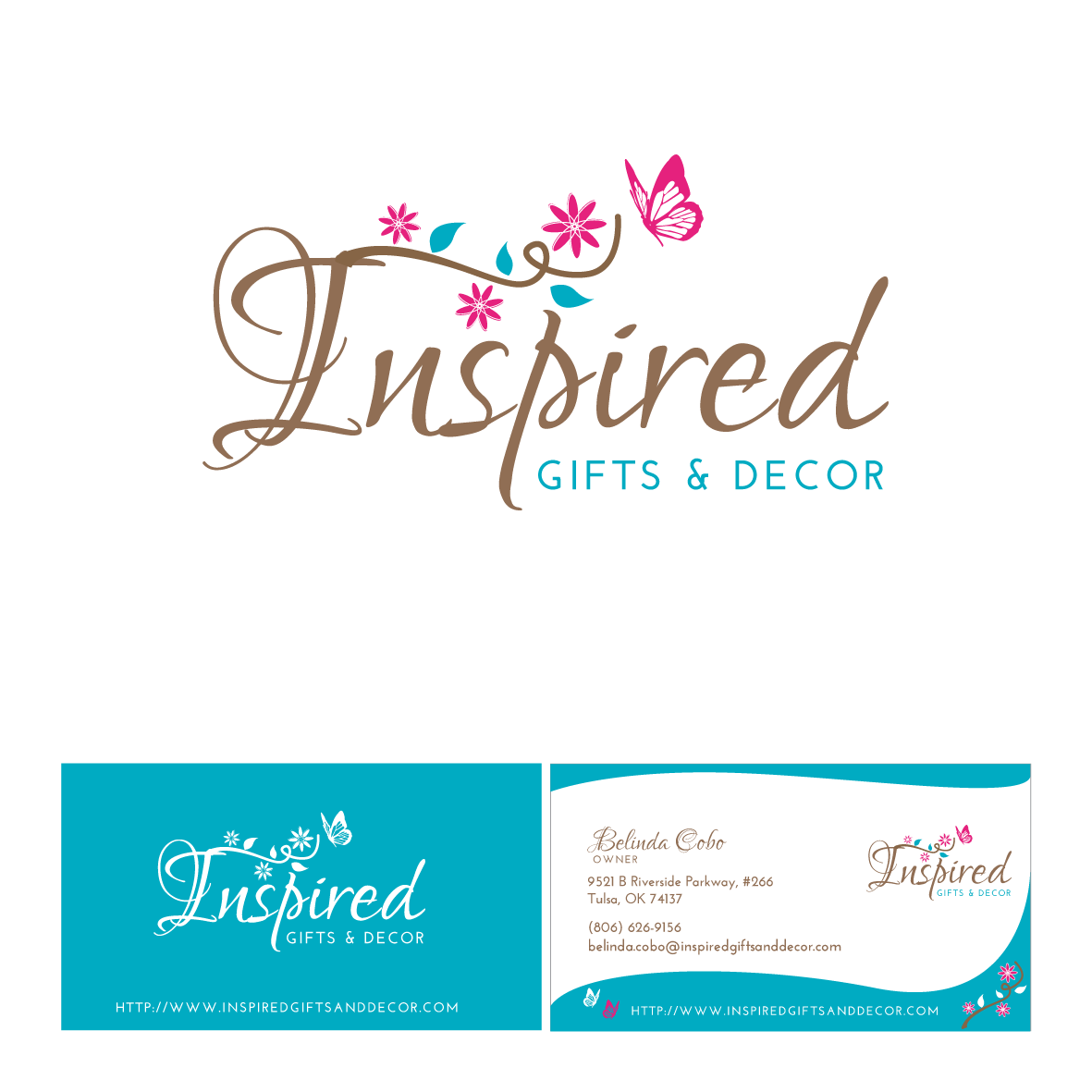 New logo and business card wanted for Inspired Gifts & Decor Logo ...