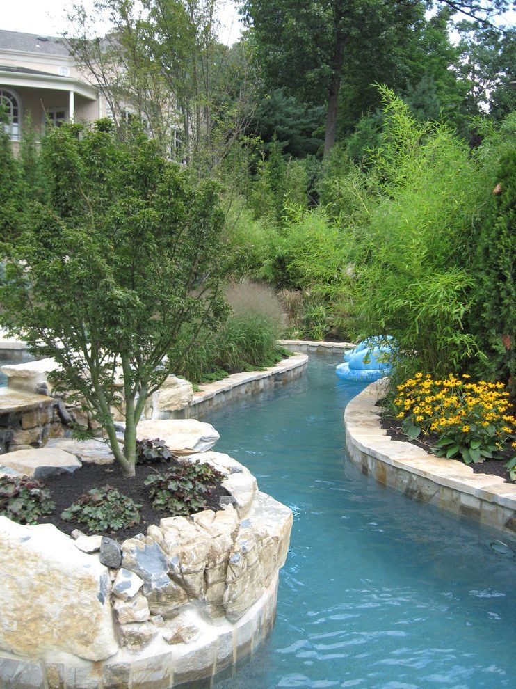 lazy river pool transitional with lazy river pool | Lazy ...