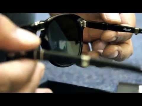 f279672392f Persol 714 SM (Steve McQueen) Folding Sunglasses (52mm 24 56) - YouTube