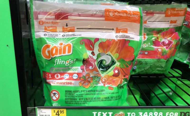 New 5/25 Dollar General Coupon 0.67 for Gain Flings