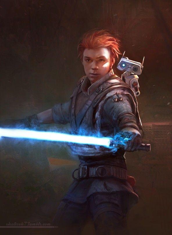 Cal Kestis Art Star Wars Poster Star Wars Images Star Wars Jedi