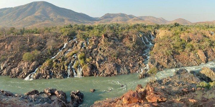 Epupa Falls, Angola, Africa