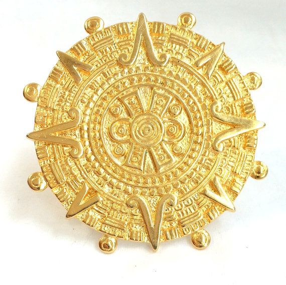 Vintage 1990's Pendant Brooch MMA Museum of by DejaVuVintiques, $32.00