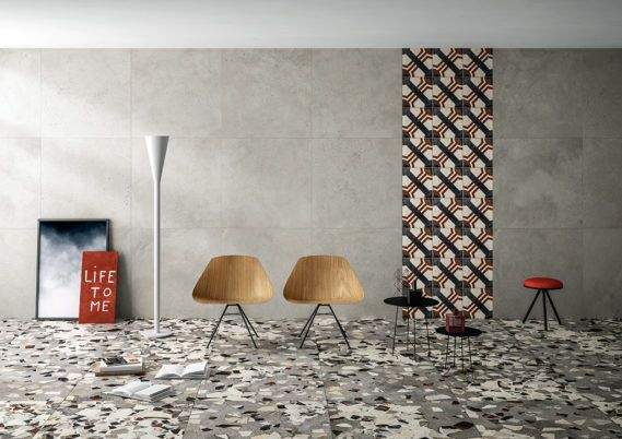 Terrazzooptik Keramik Und Feinsteinzeugplatten