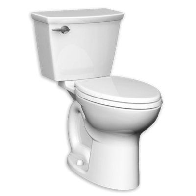 American Standard Cadet Studio 1 28 Gpf Round Two Piece Toilet