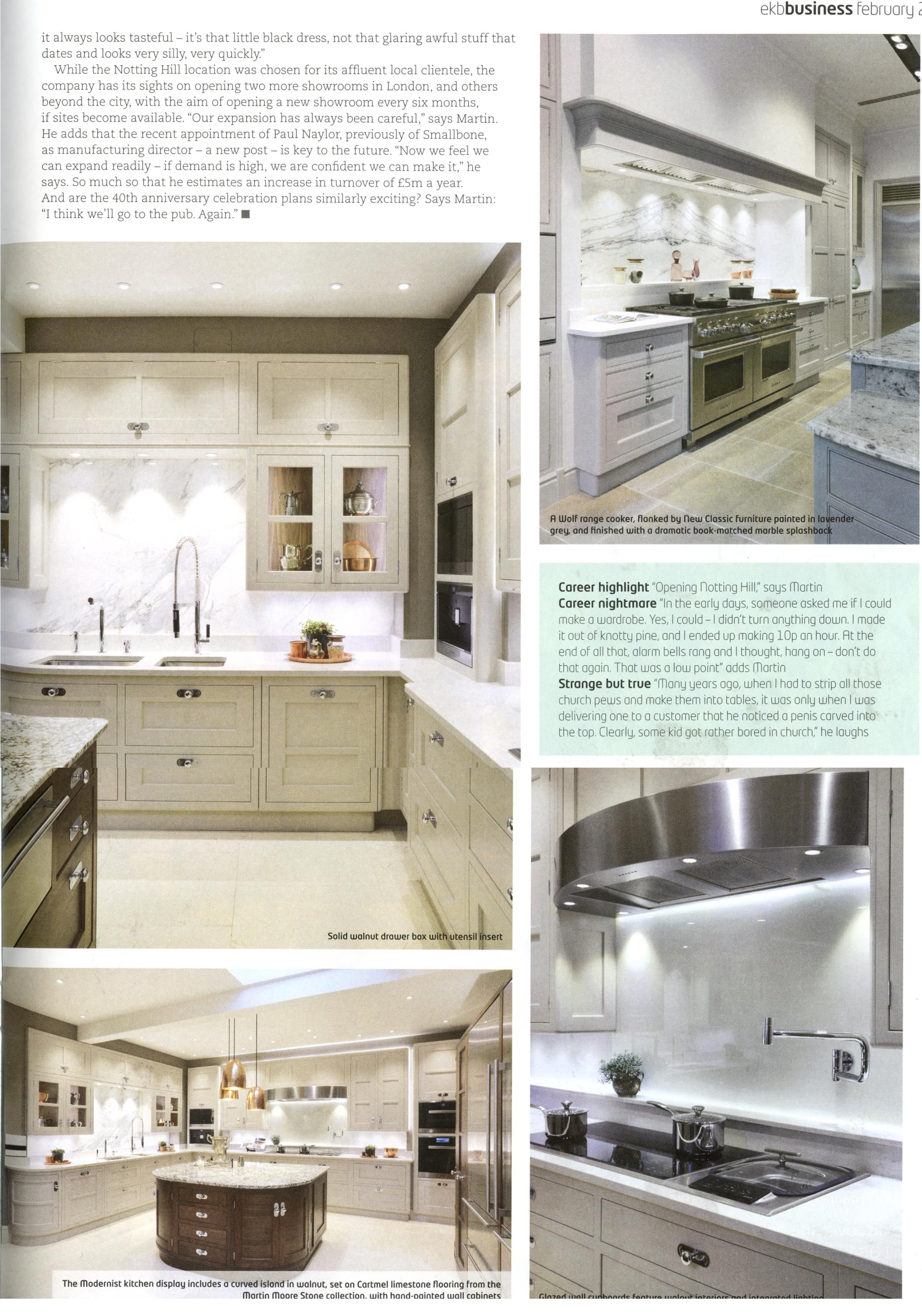 Interview With Martin And Richard Moore Martin Moore Have Just Opened A Second London Showroom In Notting Hill Mar Kitchens Bathrooms Kitchen Kitchen Cabinets