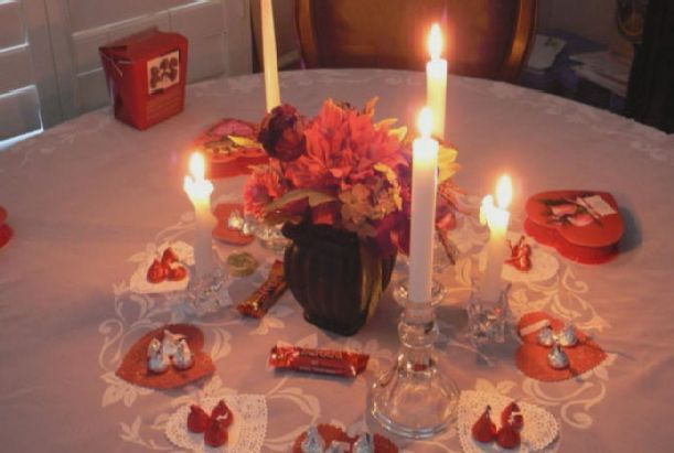 valentines+day+centerpieces   ... for valentines day 2 580x390 decorating ideas for valentines day 2