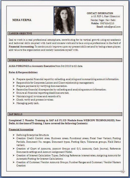 New Format For Resume College Resume Format 22 New Resume Format 2016 Best  Chronological .  New Resume Format