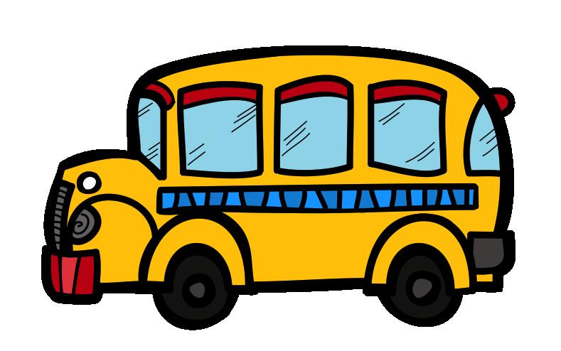 the creative chalkboard free school bus clipart and kids bundle rh pinterest co uk free school bus border clip art free school bus clipart images