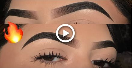 Updated Eyebrow Tutorial IG Brows   Anastasia Beverly Hills Dipbrow Pomade #eyebrowstutorial