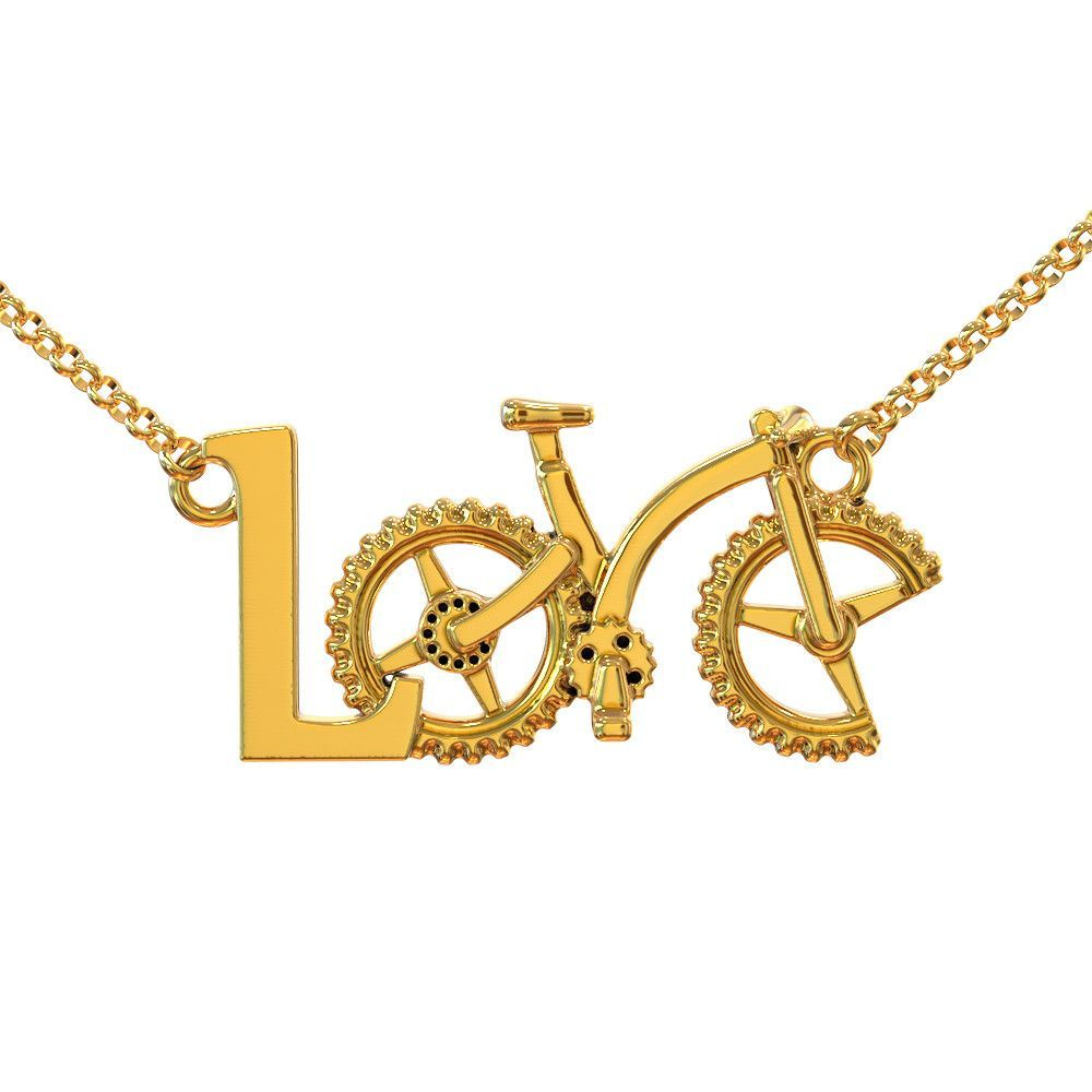 Mtb love necklace products